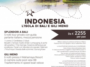 Indonesia Bali & Gili Meno da € 2255