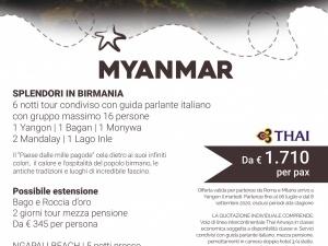 Speciale Myanmar da € 1710